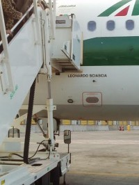 L'airbus 320 Leonardo Sciascia