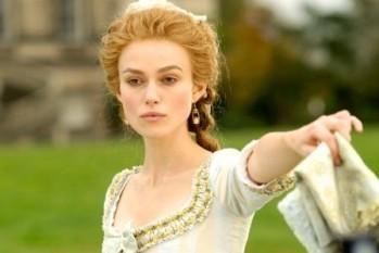Keira Knightley nel fil La Duchessa