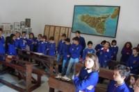 La visita all'aula Sciascia