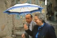 Sciascia e la moglie fotografati da Ferdinando Scianna