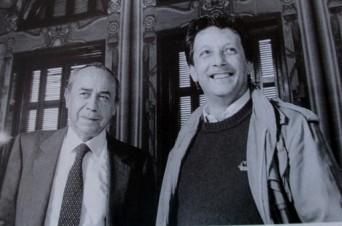 Sciascia e Leone fotografati da Ferdinando Scianna