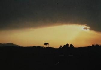 Tramonto in contrada Noce (Foto P. Tulumello)