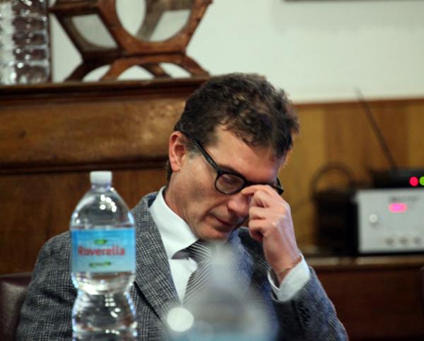 Il sindaco di Racalmuto Emilio Messana