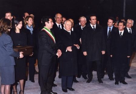 Il Presidente Ciampi visita il teatro