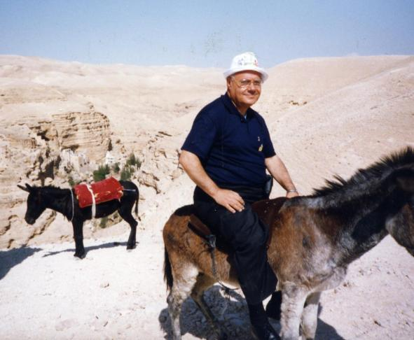 L'arciprete Puma a Gerusalemme