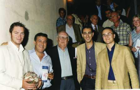 Carmelo Marchese, Giuseppe Dipasquale, Andrea Camilleri, Salvatore Picone, Ignazio Gueli