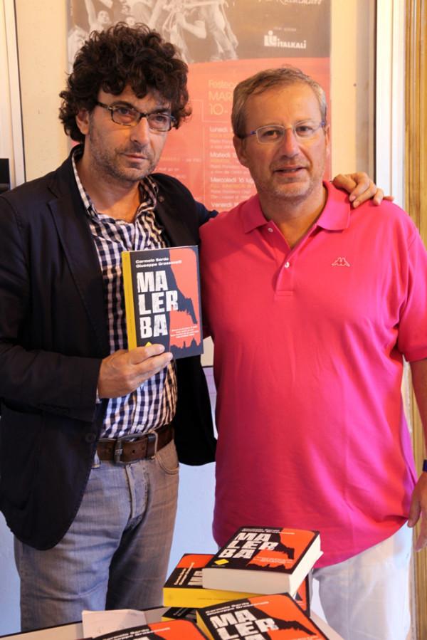 Carmelo Sardo con Giuseppe Piscopo