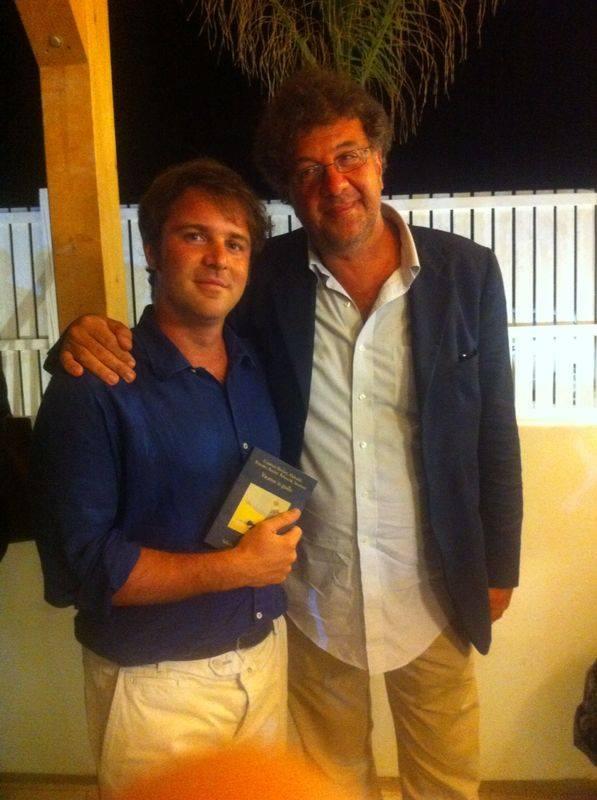 Gaetano Savatteri con Gero Miccichè