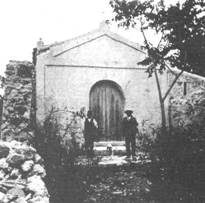 Chiesa San Gaetano, al Castelluccio. Foto pubblicata su Fb da Gigi Restivo
