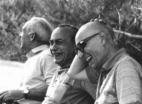 Racalmuto, la Noce, luglio 1982. Vertice letterario