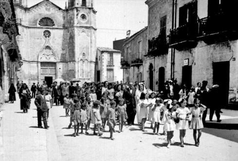 Luglio 1941. Nozze di Rosalia e Salvatore Martorana