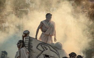 Le albe alla Valle dei Templi