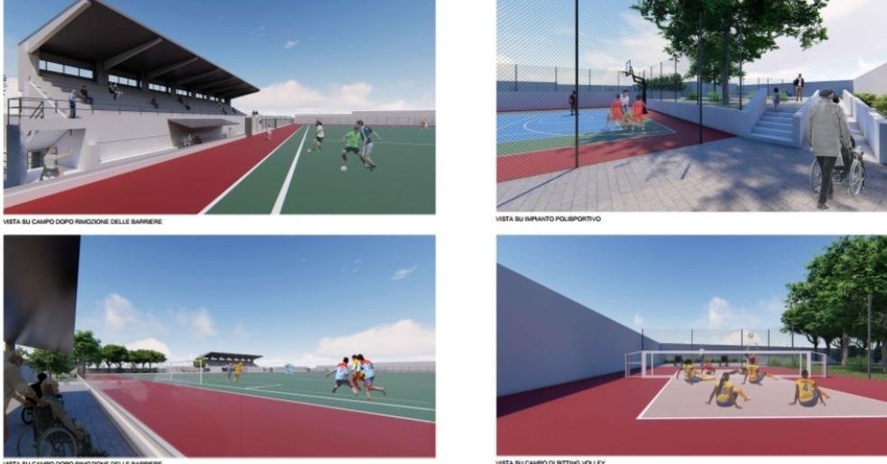 """Favara, ecco come sarà il nuovo stadio """"Giovanni Bruccoleri"""""""