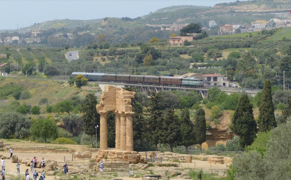 Da Palermo alla Vigata di Andrea Camilleri. Torna il Treno Storico