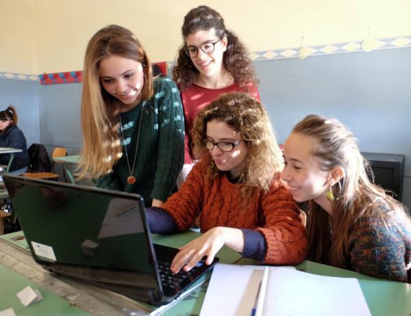 Daiana Marchica, Anna Pullara, Valeria Renda e Federica Guagenti