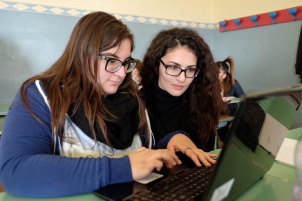Valentina Curaba e Chiara Sottile