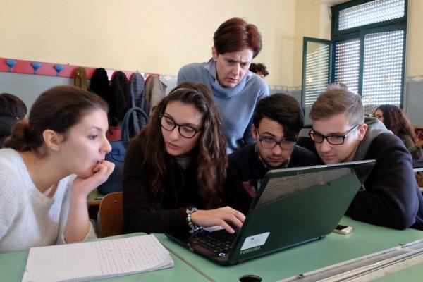 Giulia Caravasso, Ilaria Terrana, Federico Virone e Giacomo Gagliano e Valeria Iannuzzo
