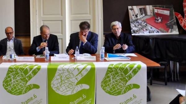 Da sinistra: Caputo, Mascaro, Savatteri, Soluri.