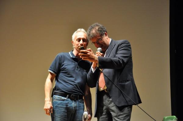 Marco Travaglio e Gaetano Savatteri