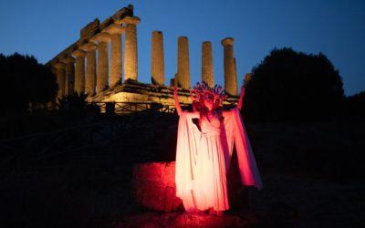Di notte nella Valle dei Templi
