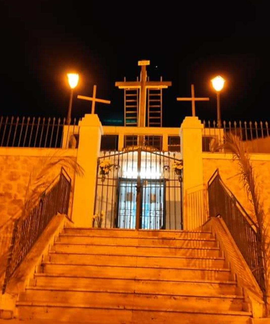 Favara, per la prima volta il Calvario senza il Cristo in Croce