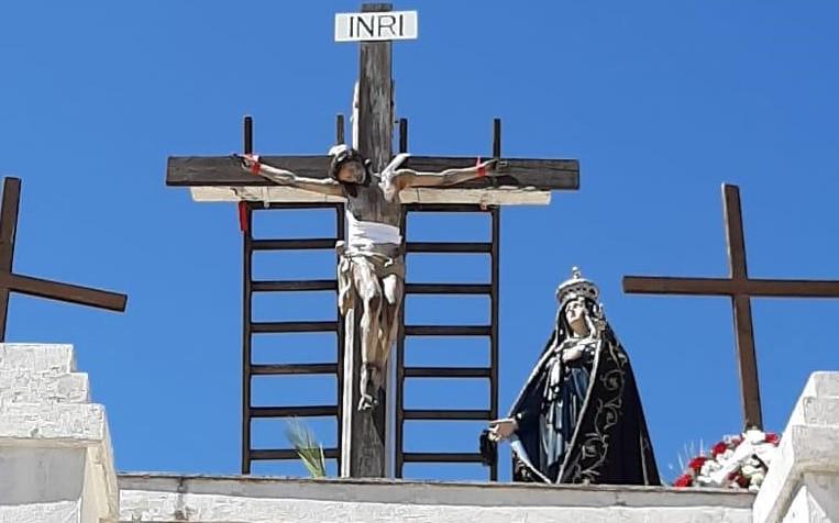 Favara, Cristo da solo con la Madre Addolorata