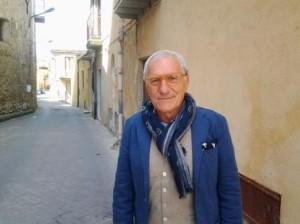 Biagio Adile stamattina a Racalmuto