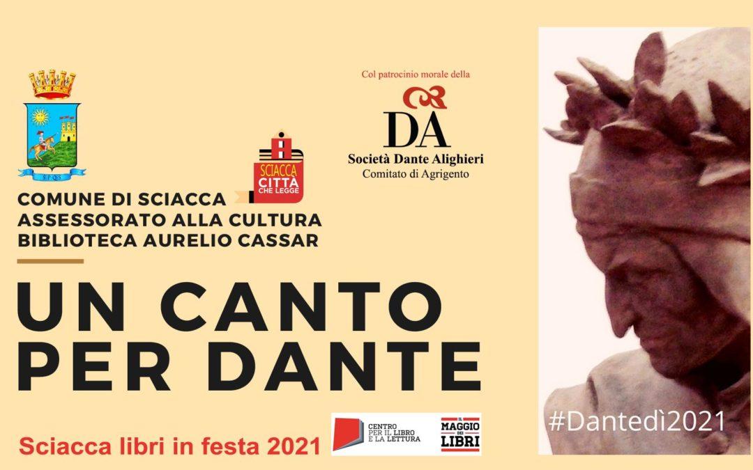 """""""Un Canto per Dante"""", a Sciacca la giornata conclusiva del concorso"""
